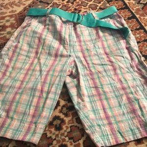 Shorts with belt size 12p